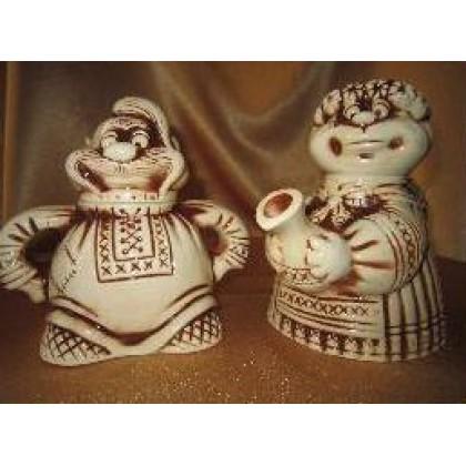 Чайная пара «Старики»  2 предм.