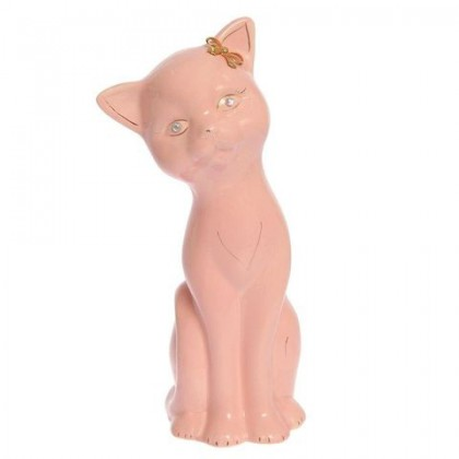 Алиса (кошка) большая розовая 12 см × 9,5 см × 29 см
