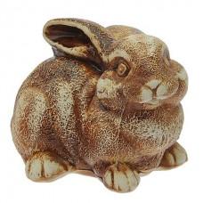 Заяц (кролик) шамот   (21 см × 15 см × 14)