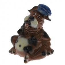 Собака толстопуз глянец  (25 см *27 см * 25 )