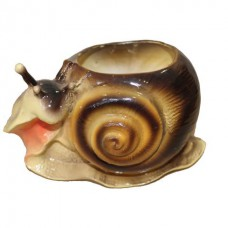 Улитка фигурное кашпо  (14 см × 23 см × 13)