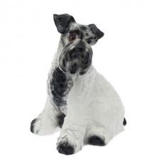 Собака Шнауцер Глянец  20 см × 23 см × 36
