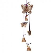 Оберег бабочка с колокольчиками