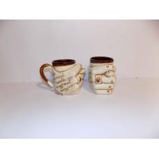 Чашка дуля(глазурь)