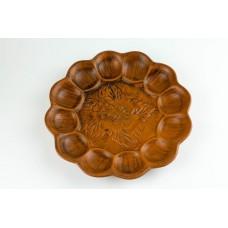 Пасхальное блюдо для яиц, диаметр 21 см.