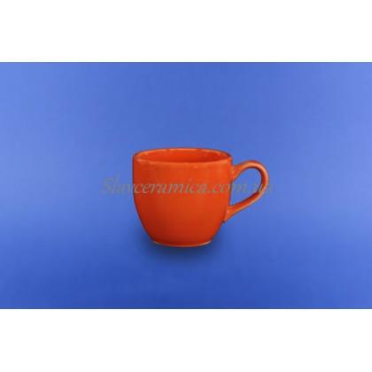 """Чашка """"Одесса"""" 0,210 л оранжевая"""