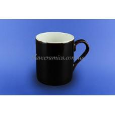 """Чашка """"Офисная"""" 0,400 л коричневая 2 белая"""