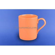 """Чашка """"Офисная"""" 0,400 л оранжевая"""