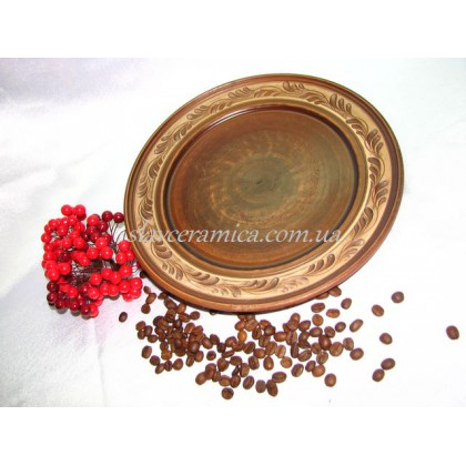 Тарелка d 250 ангоб